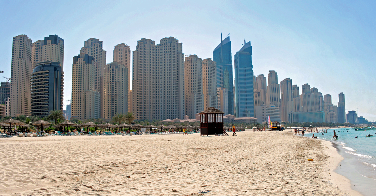 jumeirah beach free places in dubai
